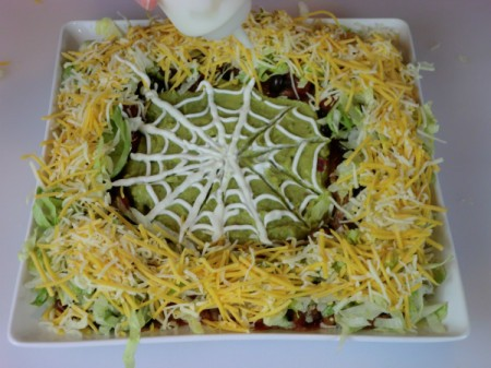 trace web with sour cream