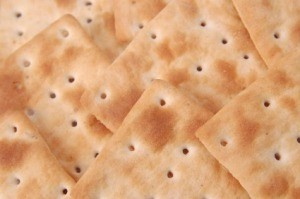 A photo of stale crackers.