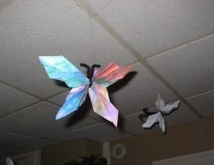 Fan-Fold Butterflies