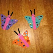 Magnetic Butterflies