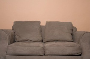 Microfiber Couch.