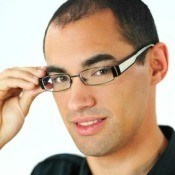 Man Wearing Eyeglasses
