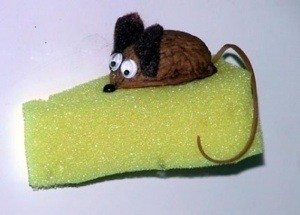 Mouse Refrigerator Magnet