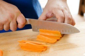 Cutting Carrots