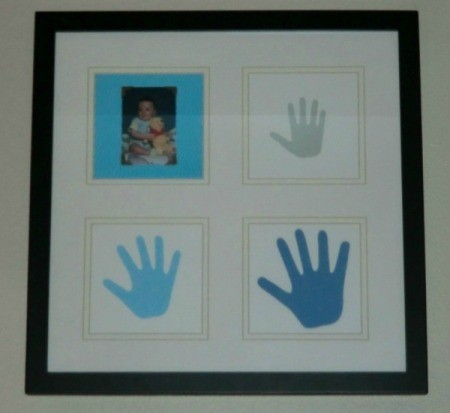 Displaying Children's Handprints