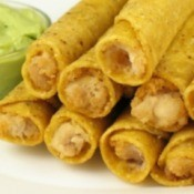 Homemade Taquitos