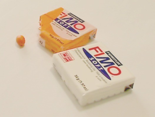 FIMO waterproof clay.