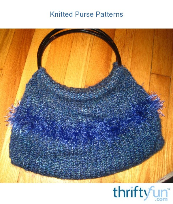 Knit Purse Pattern : Knitted Purse Patterns ThriftyFun