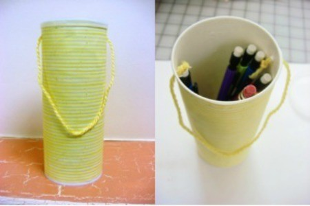Pringles Can Pencil Tote
