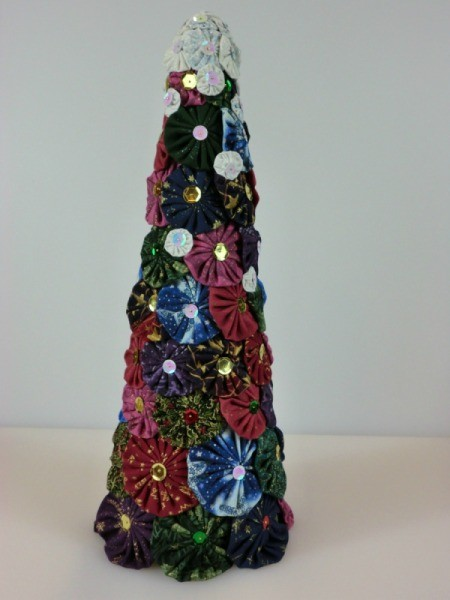 Make A Christmas Tree From Paper