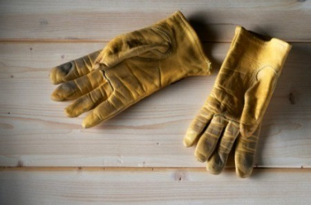 Cleaning Leather Garden Gloves