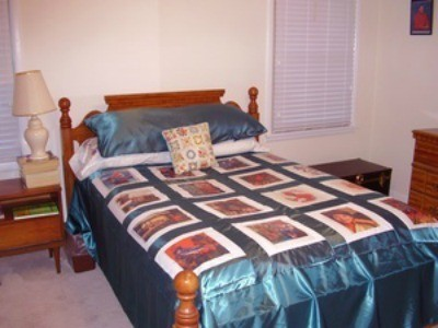 Magazine Photo Bedspread