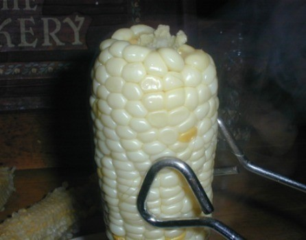 Removing Corn From the Cob