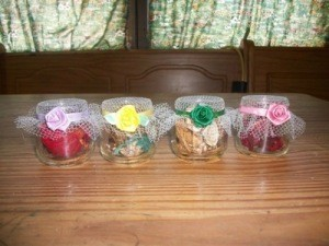 Recycled potpourri containers