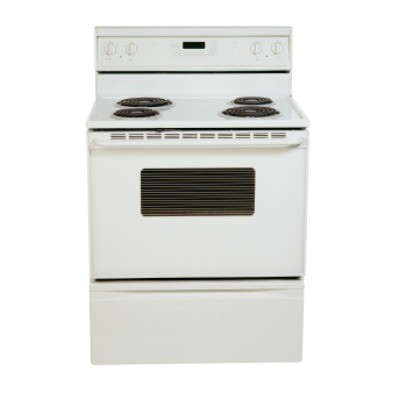 A and oven and range with mouse odor problems.