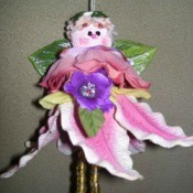 Making Silk Flower Angels
