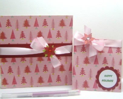 Holiday Journal and Card Gift Set