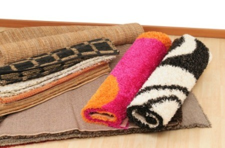 Storing Area Rugs