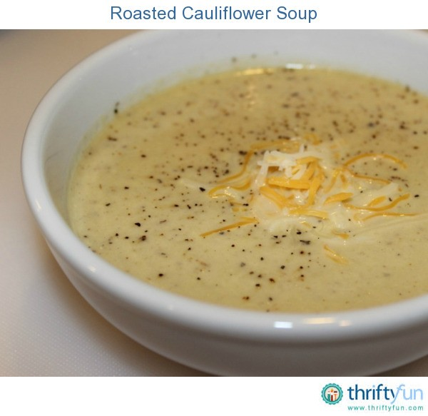 Cauliflower Soup With Sharp Cheddar And Thyme Recipe ...
