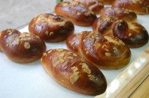 Traditional Greek sweet yeast bread