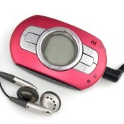 Small Pink MP3 Player