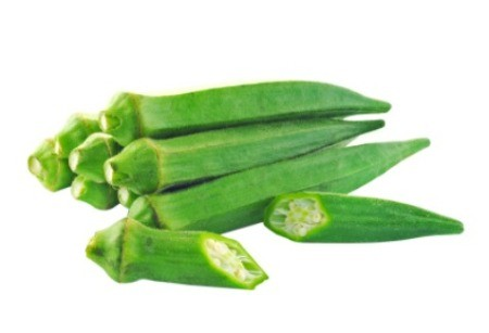 Drying Okra