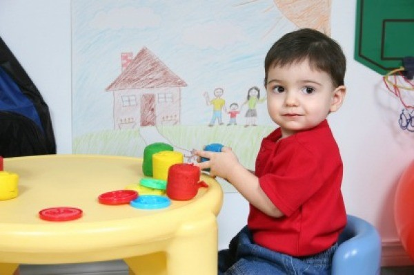 Young Boy at Daycare