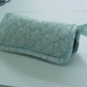 Making a Eyeglass Case from a Potholder