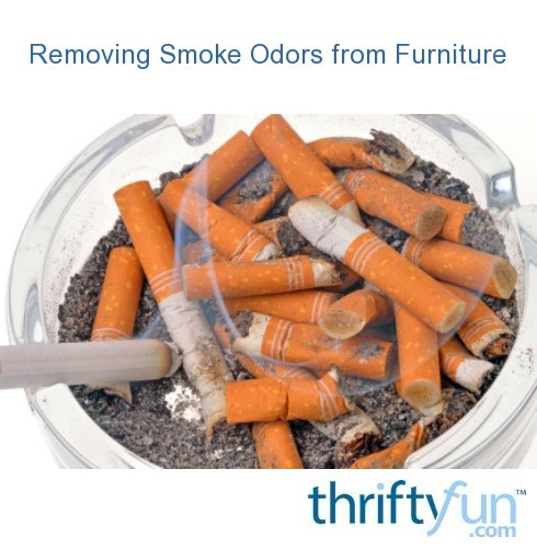 removing smoke odors from furniture thriftyfun. Black Bedroom Furniture Sets. Home Design Ideas