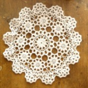Making Crochet Doilies