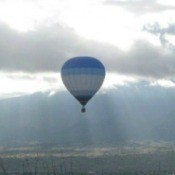 Hot Air Balloon at Albuquerque Balloon Fiesta