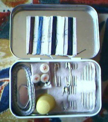 Homemade Sewing Kits