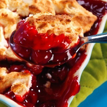 ... delicious cherry cobbler. This page contains cherry cobbler recipes