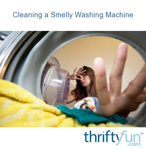 clean smelly washing machine