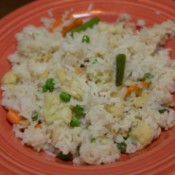 Finished Vegetable Pilaf