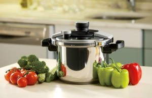 Pressure Cooker with Vegetables
