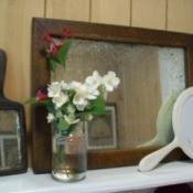 Decorating With Old Mirrors