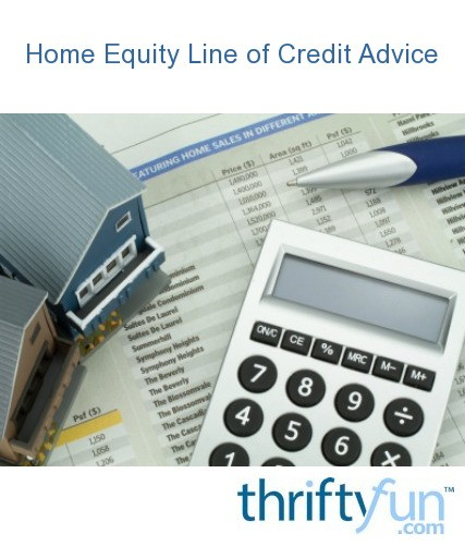 Home Equity Line Credit