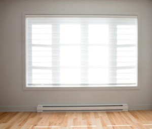 Baseboard Heater in front of Window