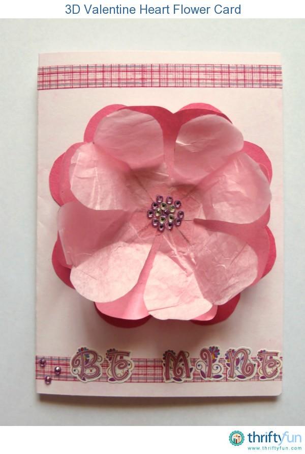 3dvalentineheartflowercard4fancy