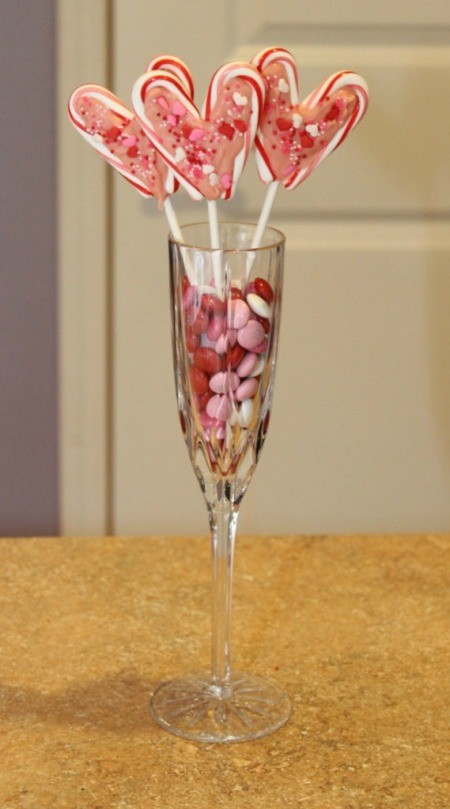 lollipop arrangement