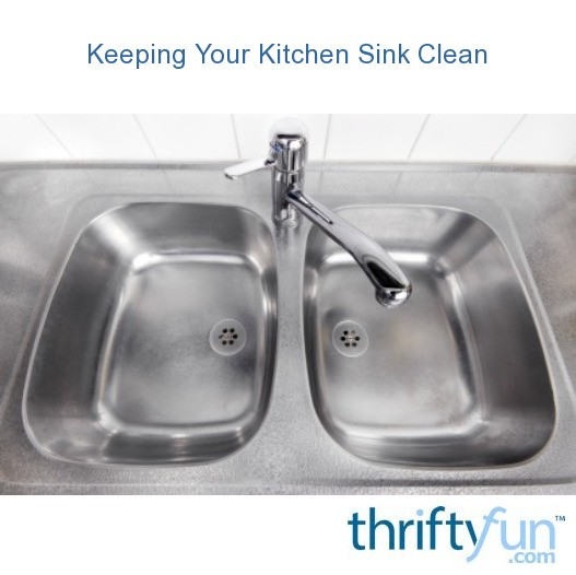 Keeping Your Kitchen Sink Clean