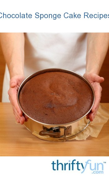 Chocolate Sponge Ingredients Of Chocolate Sponge Cake Recipes Thriftyfun