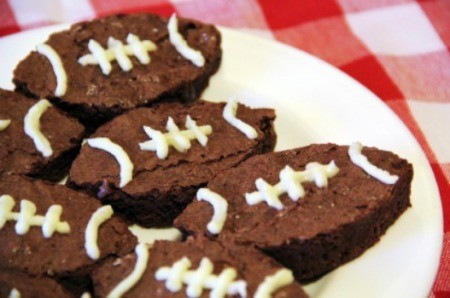 Super Bowl Party Brownies