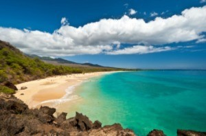 Makena Beach in Maui.