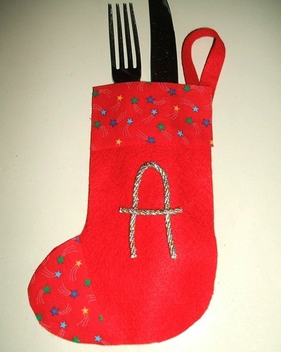 Silverware Stocking