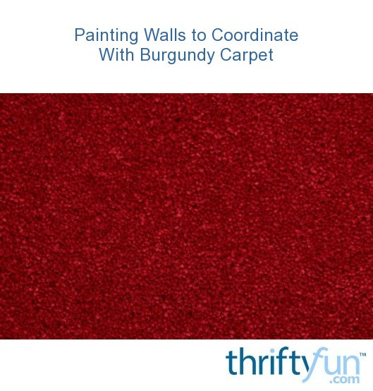 painting walls to coordinate with burgundy carpet thriftyfun. Black Bedroom Furniture Sets. Home Design Ideas