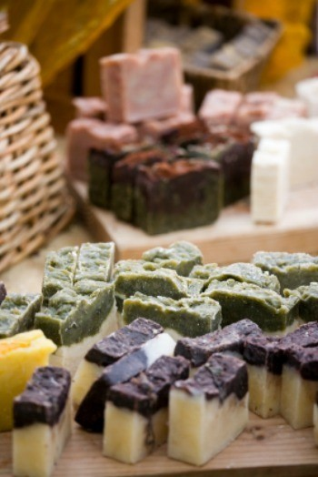 selling homemade soap