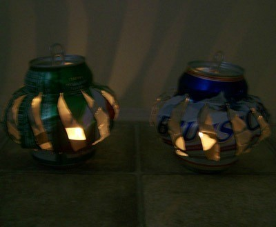 Finished lanterns.