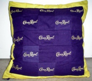 Crown Royal Pillow